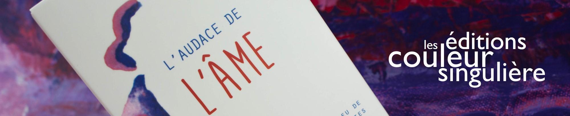 Rendez-vous sur le site de l'Audace de l'Âme, la nouvelle création de Sabine Bazillio